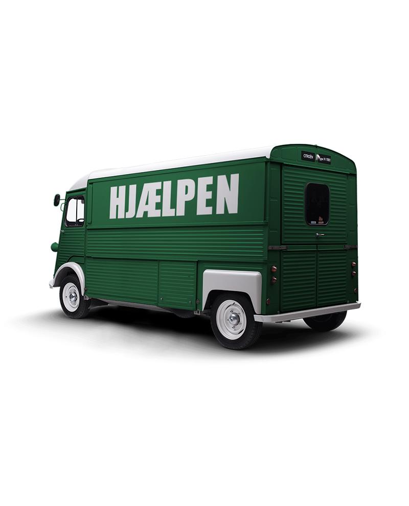 Hjaelpen Food Truck Vision